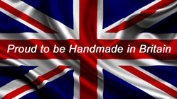 Proud to be Hand Made in Britian